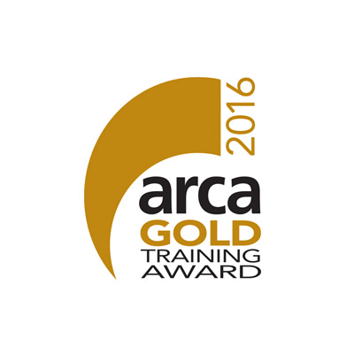 2016 - ARCA Gold Award for Training