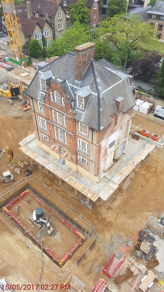 Keble College - Completed Site