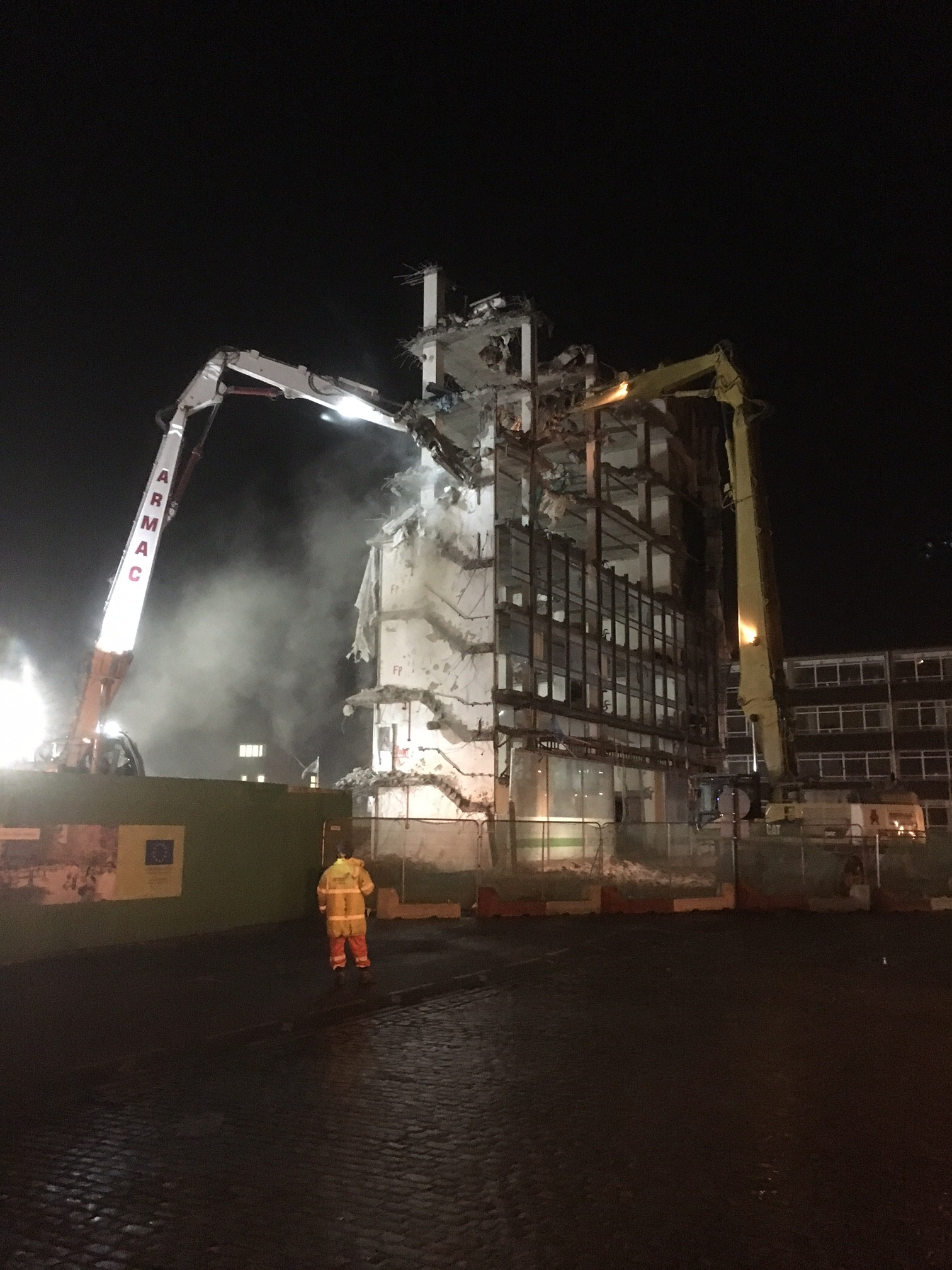 Friarsgate Demolition, Coventry