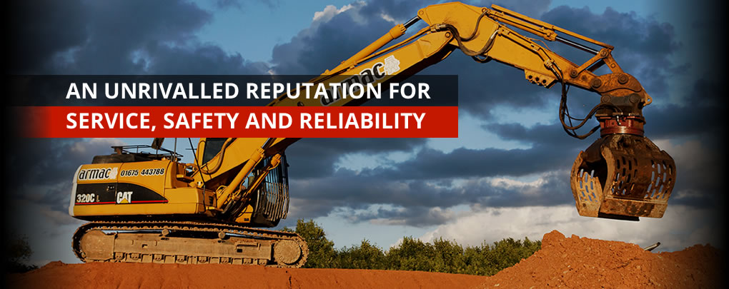 Armac Group - An unrivalled reuptation for service, safety and reliabilty